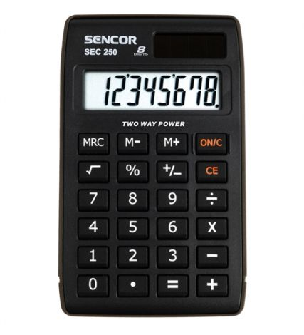 Kalkulátor školní SENCOR SEC 250