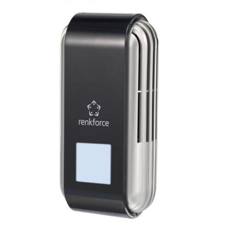 Air purifier 10 m² 2.5 W Black, Silver renkforce AP-M15A