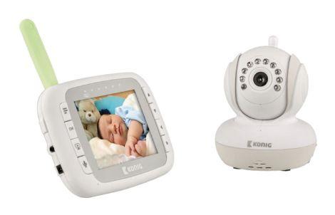 "Baby monitor child IP WiFi LCD 3.5"" KÖNIG KN-BM80"