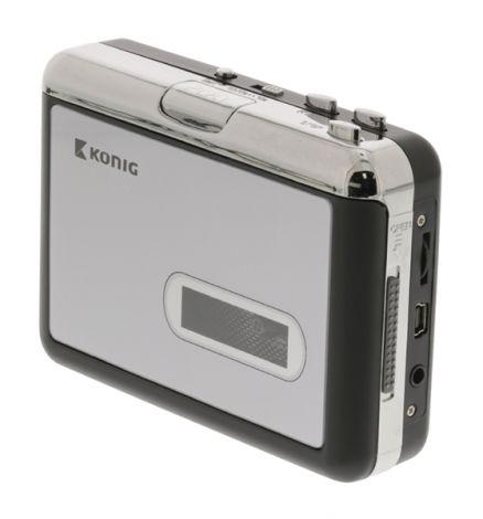 Converter USB cassette KÖNIG HAV-CA10