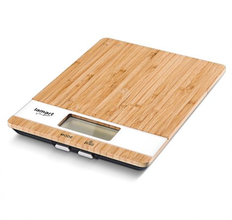 LAMART Kitchen Scale Bamboo (LT7024)