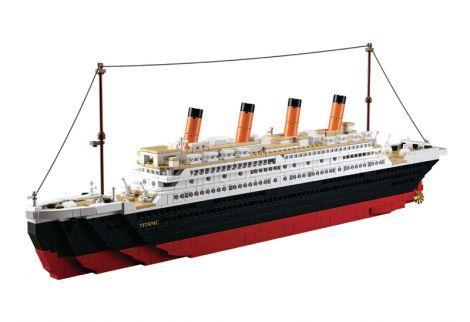 Titanic Big Building Bricks Set (M38-B0577)