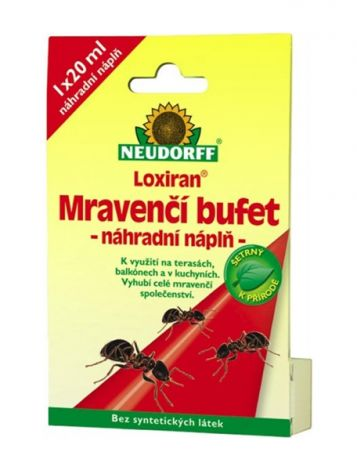 Refill replacement for ants NEUDORFF LOXIRAN 20 ml
