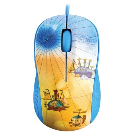 PC mouse YENKEE YMS 1020BE USB FANTASY blue