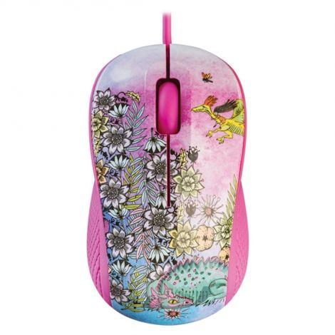 PC mouse YENKEE YMS 1020PK USB FANTASY pink