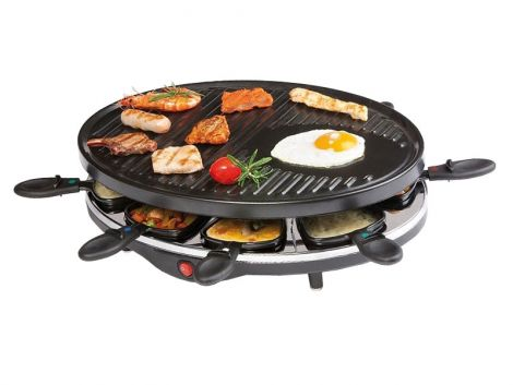 Raclette grill for 8 people - DOMO DO 9038 G