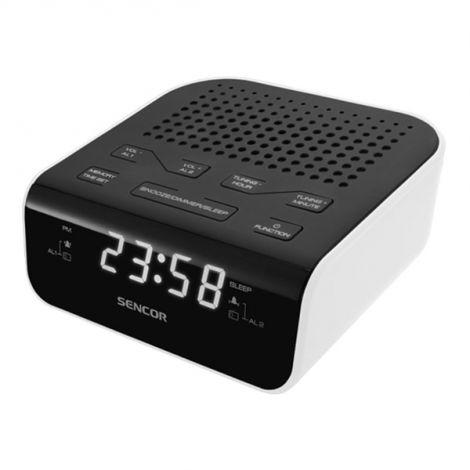 Ραδιόφωνο Ξυπνητήρι SENCOR SRC 136 WH