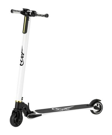 Electric Scooter ELJET CARBON LIGHT white