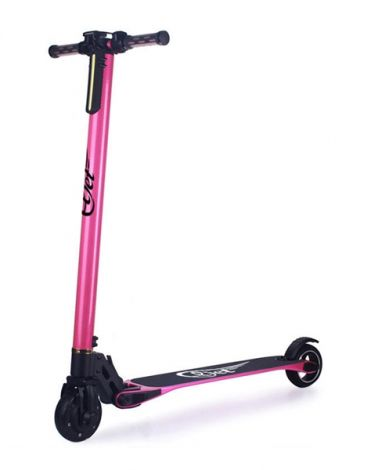 Electric Scooter ELJET CARBON LIGHT pink