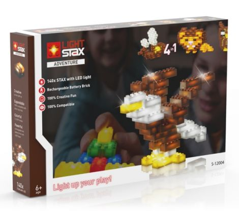 Kits LIGHT STAX ADVENTURE 4v1 compatible LEGO