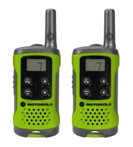 Radio stations MOTOROLA TLKR T41 green