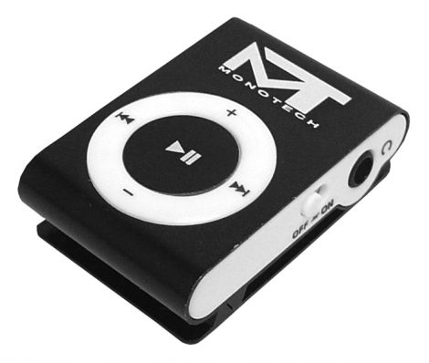 MP3 player MonoTech black