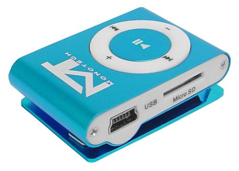 MP3 player MonoTech blue