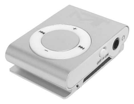 MP3 player MonoTech silver