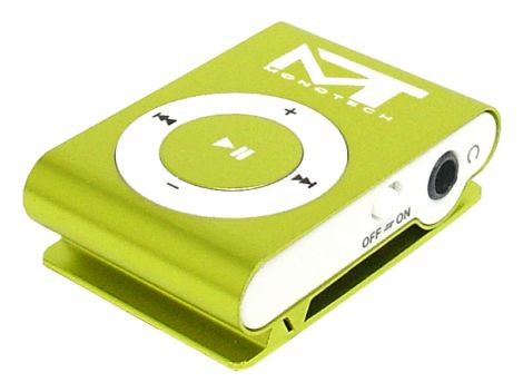 MP3 player MonoTech green