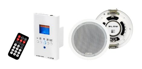 Audio system wall BLOW NS-01, remote control
