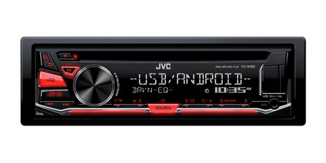Car Radio JVC S CD/MP3/USB KD-R482