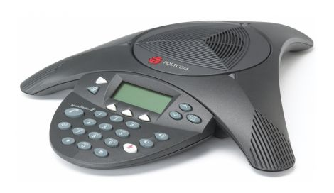 Audio conferencing Polycom SoundStation 2 with LCD display