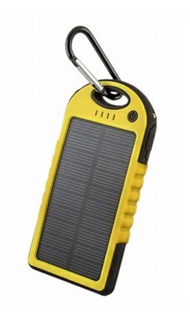 PowerBank 5000 mAh solar FOREVER PB-016 yellow