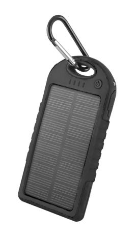 PowerBank 5000 mAh solar FOREVER PB-016 black