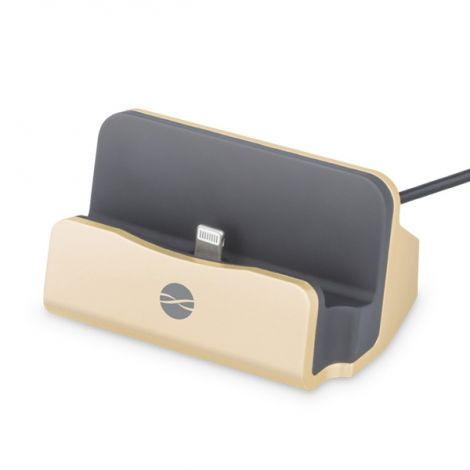 Desktop Charger IPHONE 5/6 FOREVER DS-01 gold