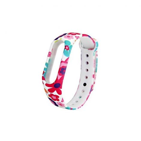 Strap replacement XIAOMI MI BAND 2 FLOWERS