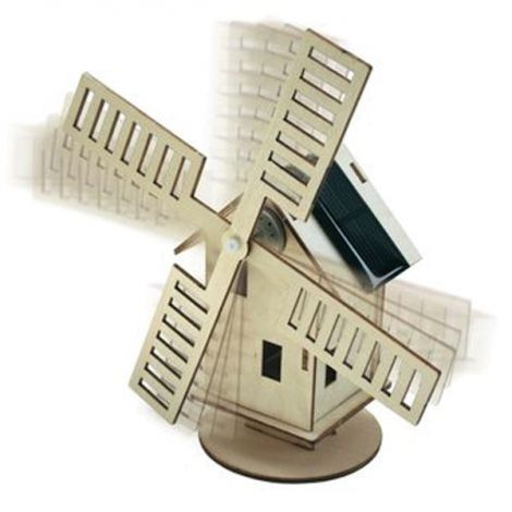 Solar powered windmill