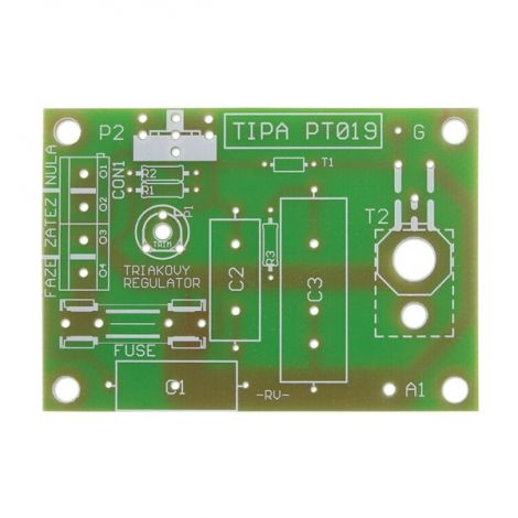 PCB TIPA PT019 Triac regulator 230V/10A (board)