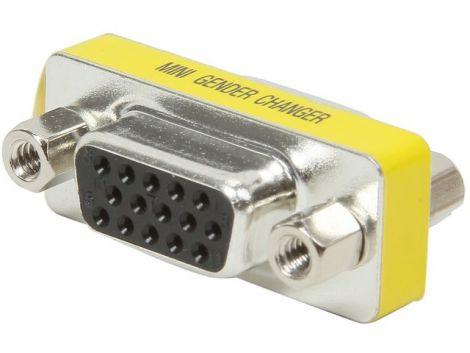 Adapter DeTech ,VGA F/F , 15P - 17142
