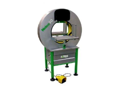 Plasticband Ημιαυτόματη Περιστρεφόμενη Μηχανή Περιτυλίγματος (Neleo 50)