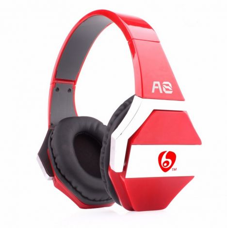Headsets Ovleng OV-A8 Audio For smartphones With microphone red (20272)