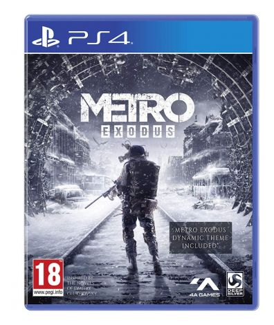 Metro Exodus Day One Edition (PS4) + Spartan Survival Guide