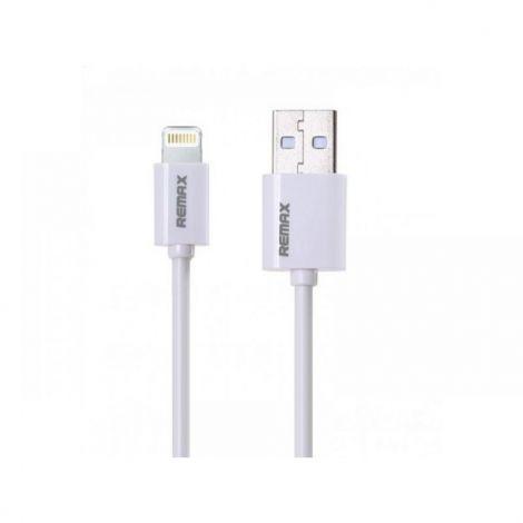 Remax Kαλώδιο Δεδομένων USB σε iPhone 2m Λευκό RC 006i (14355)