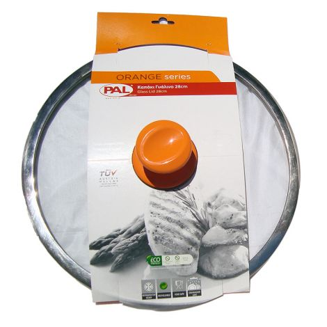 PAL Καπάκι γυάλινο 26 εκατ. Πορτοκαλί (050.000347)