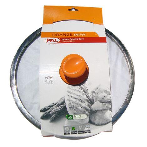 PAL Καπάκι γυάλινο 28 εκατ. Πορτοκαλί (050.000348)