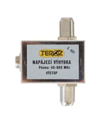 Anténní napájecí výhybka Teroz  F-F s DC konektorem