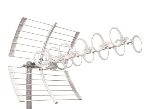 UHF broadband antenna Emme Esse Optica