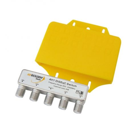 Interstar DiSEqC-Switch 4 in 1 GI-411 outdoor
