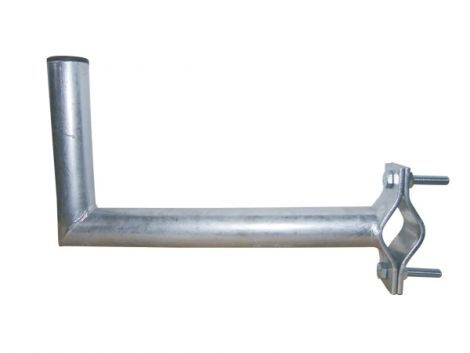 Antenna bracket 35 to a balcony diameter 42mm height 16 cm Hot dip galvanized