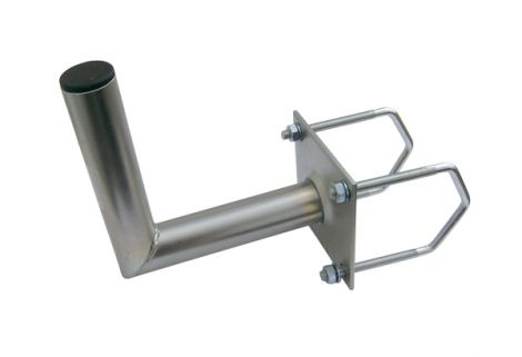 Antenna bracket 35 on the balcony railing square diameter 42mm height 16 cm