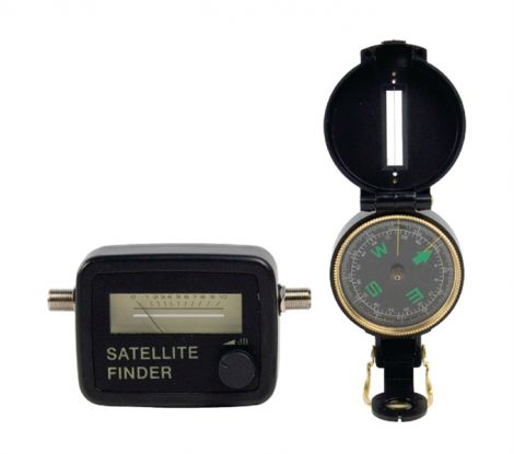 Set for search satellites KÖNIG SATFINDER-KIT