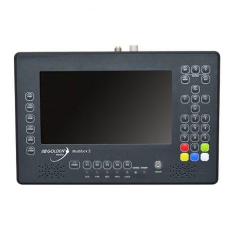 Golden Media Multibox 2 Satellite Monitor (DVB-S2 / T2 / C)