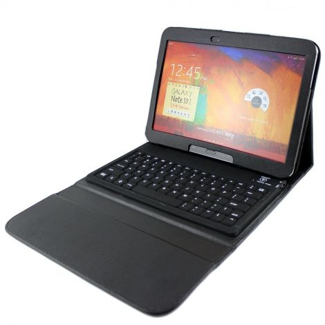 """Θήκη με Πληκτρολόγιο Bluetooth για Samsung Tab 3 10 """"Μαύρη (14698)"""