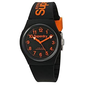 Superdry Men's  Watch with Silicone Strap  SYG164B