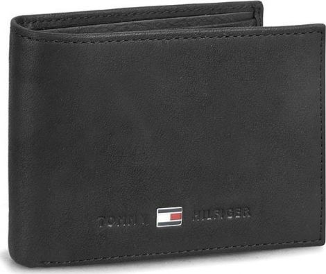 Tommy Hilfiger Men's Johnson Mini CC Flap and Coin Pocket Wallets, 11x8x2 cm