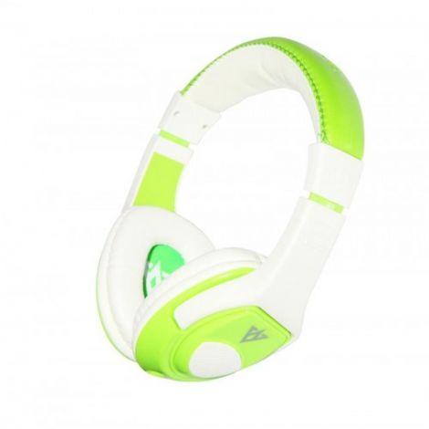 Vykon Ακουστικά με Mικρόφωνο MQ44 Πράσινο (20236)