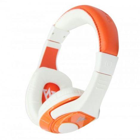 Vykon Ακουστικά με Mικρόφωνο MQ44 Πορτοκαλί (20236)