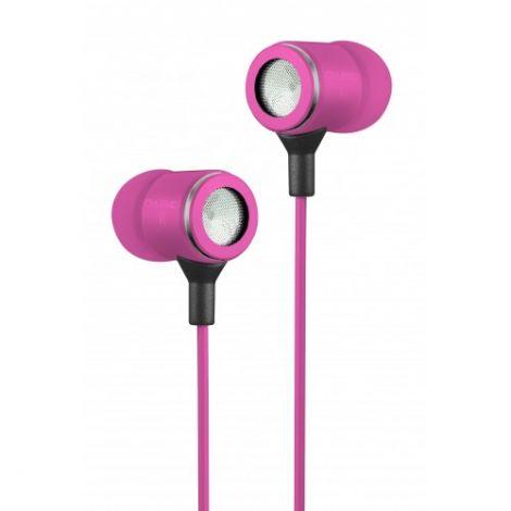 Ovleng Ακουστικά με μικρόφωνο OV-IP680 Ροζ (20247)