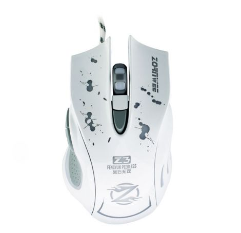 Gaming Mouse ZornWee Z3 Optical Wired White (978)