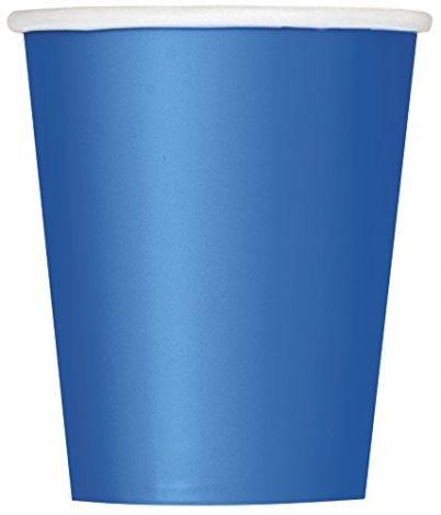 Ποτηράκια μπλε χαρτιού, πακέτο 14 τεμ.